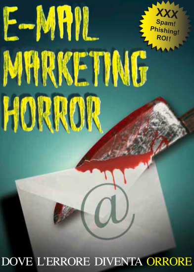Il nuovo Horror book di Web Marketing Garden dedicto all'email