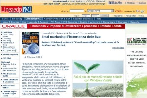 Email Marketing: intervista