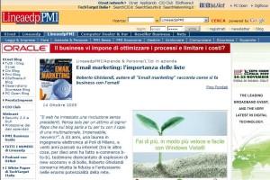 Email Marketing: intervista