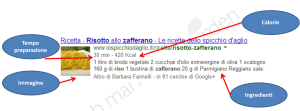 Ricetta Risotto Schema.org