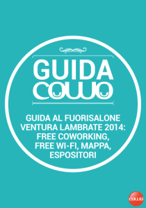 Guida Fuori Salone Ventura-Lambrate