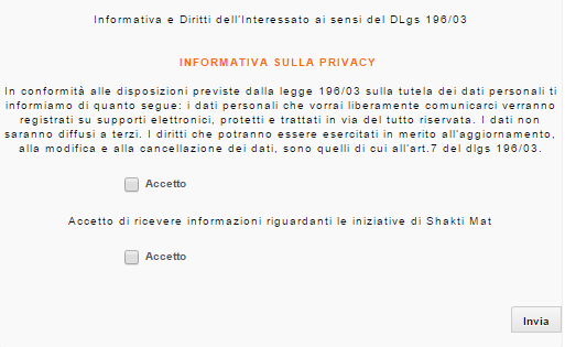 Form Privacy
