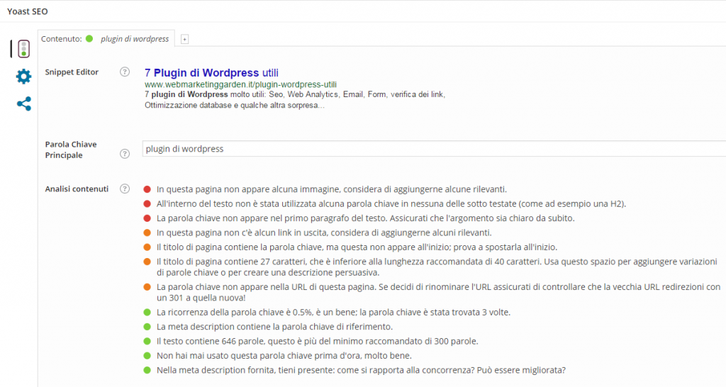 Plugin WordPress Yoast SEO