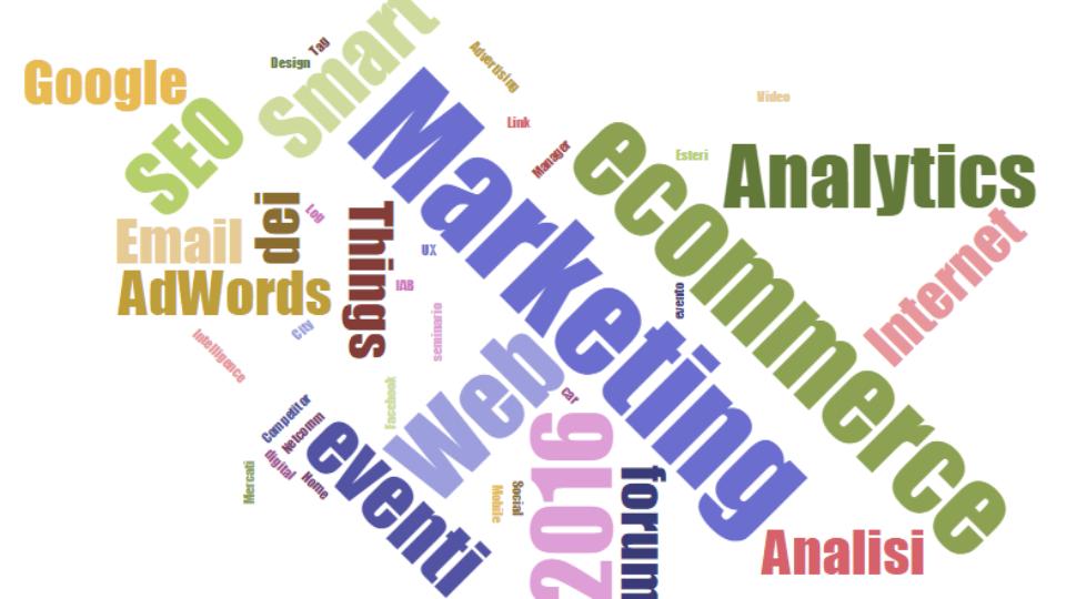 eventi e-commerce e digital marketing 2016