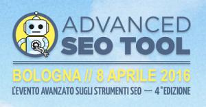 eventi 2016 e-commerce Advanced SEO TOOL