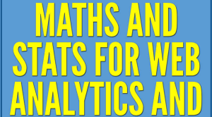 Maths and stats
