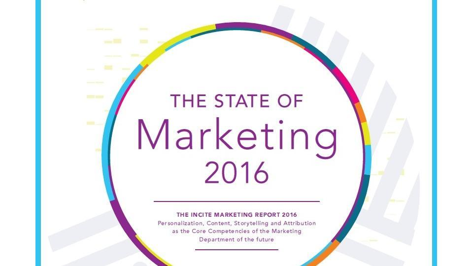 State of marketing 2016