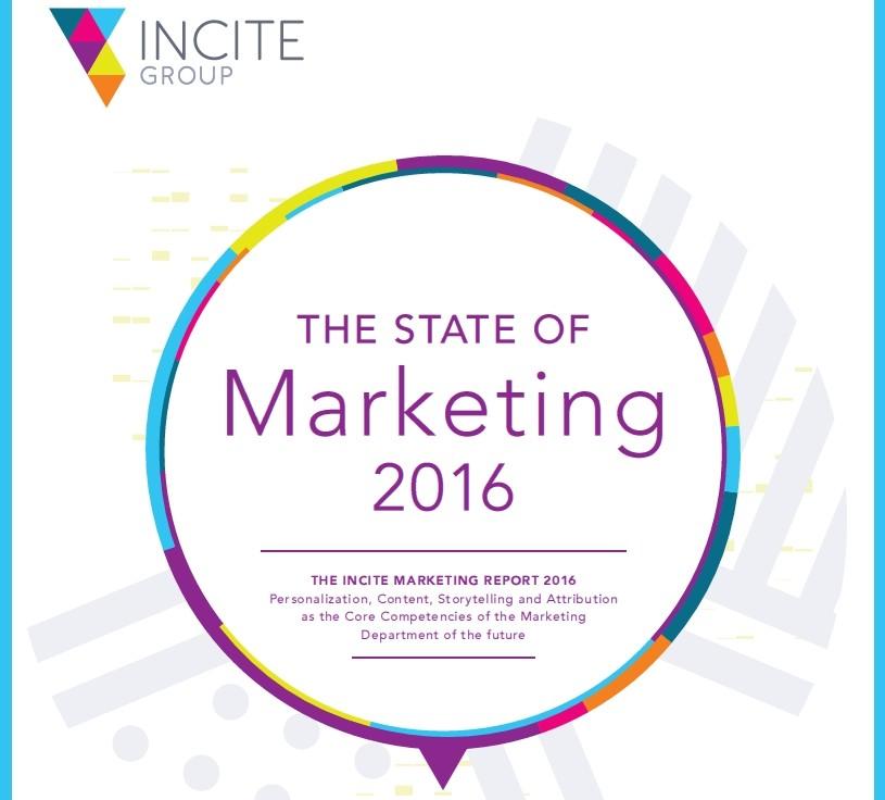 State of marketing 2016