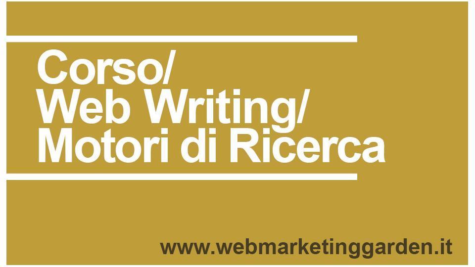 Corso Web Writing Motori di Ricerca