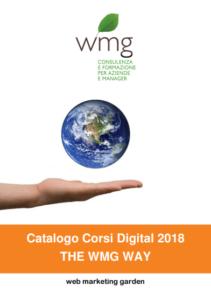 Catalogo Corsi Web Marketing WMG