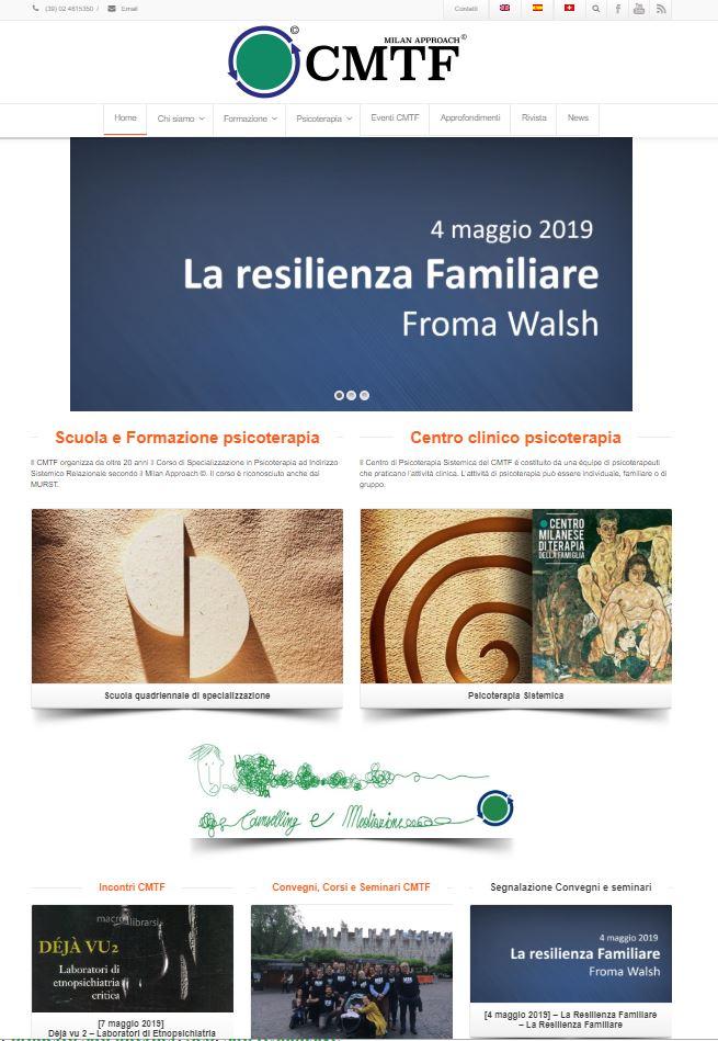 CMTF Il centro Milanese di Terapia della Famiglia